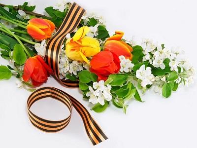 Какие цветы подарить на 9 мая