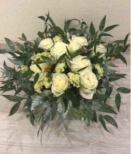 Стильный букет из нежных роз