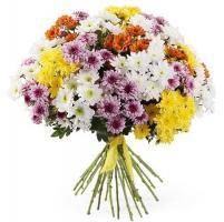 Свадебный букет 31 хризантема