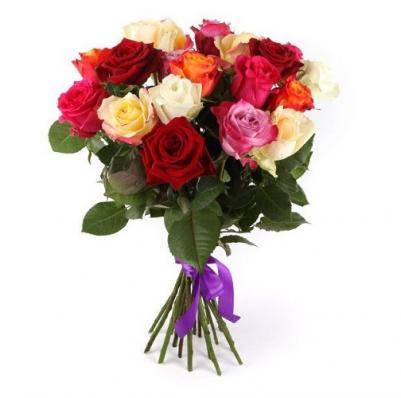 Букет Фламандская история 21 роза