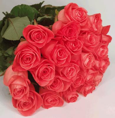 Букет 21 роза Шик
