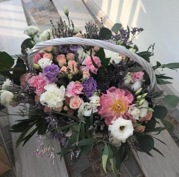 Цветы в корзине «Феерия»