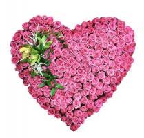 Свадебный букет «Страна роз»