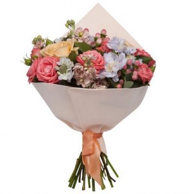 Цветы на первое сентября «Ваниль»