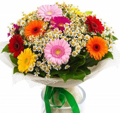 Цветы на 1 сентября «Радуга»