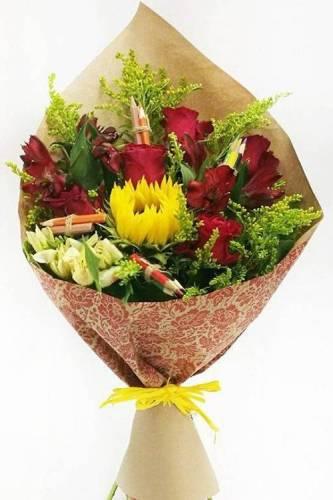 Недорогие цветы на День учителя