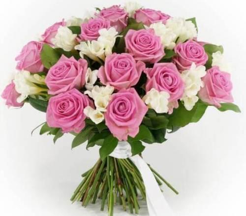 Букет из роз на 1 сентября