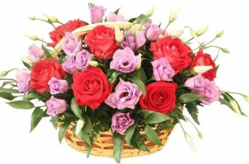 Цветочная корзина «Лиза»