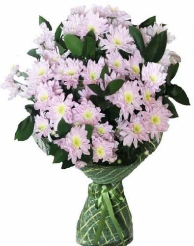 Букет из хризантем на День матери