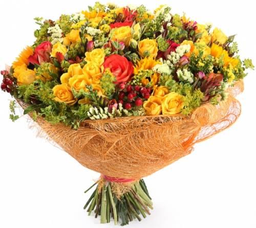 Цветы маме на юбилей