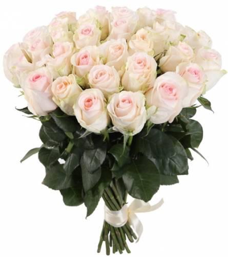 Букет из 31 кенийской розы на День рождения любимой
