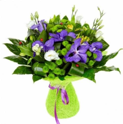 Букет из орхидеи на День рождения