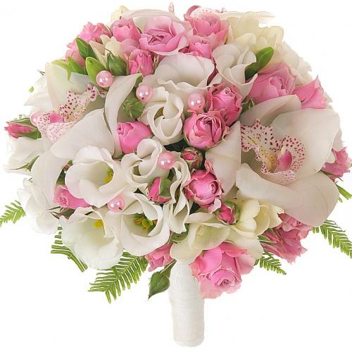 Букет с орхидеей для невесты