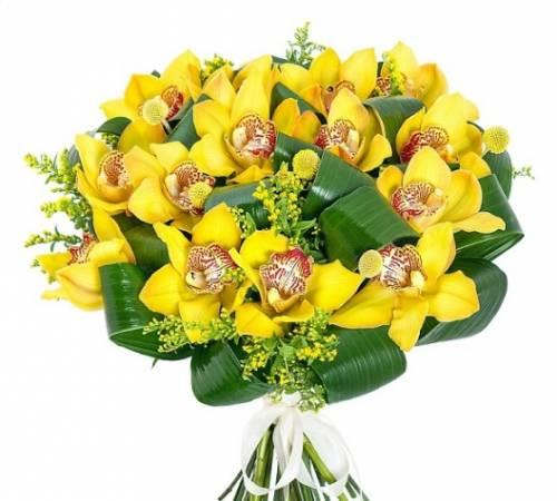 Цветы из орхидей на День рождения