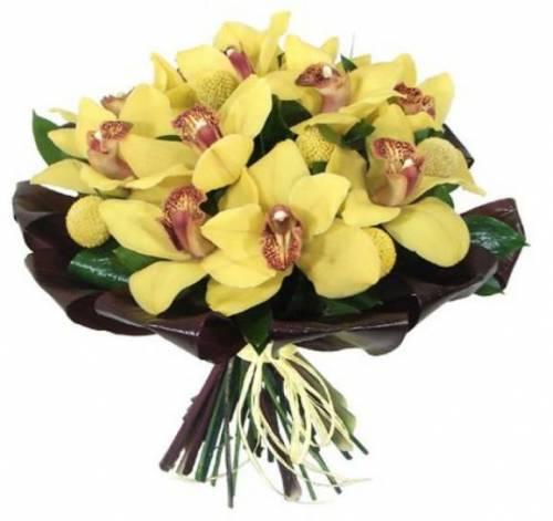 """Орхидея """"Лотос"""" в подарок на День рождения"""