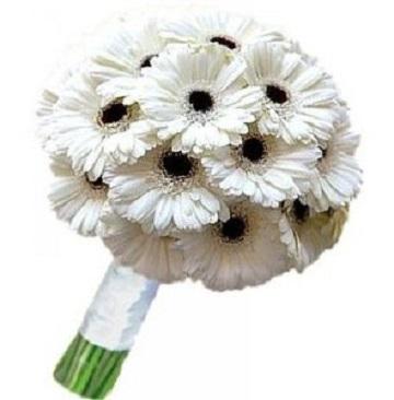 Белые цветы для невесты
